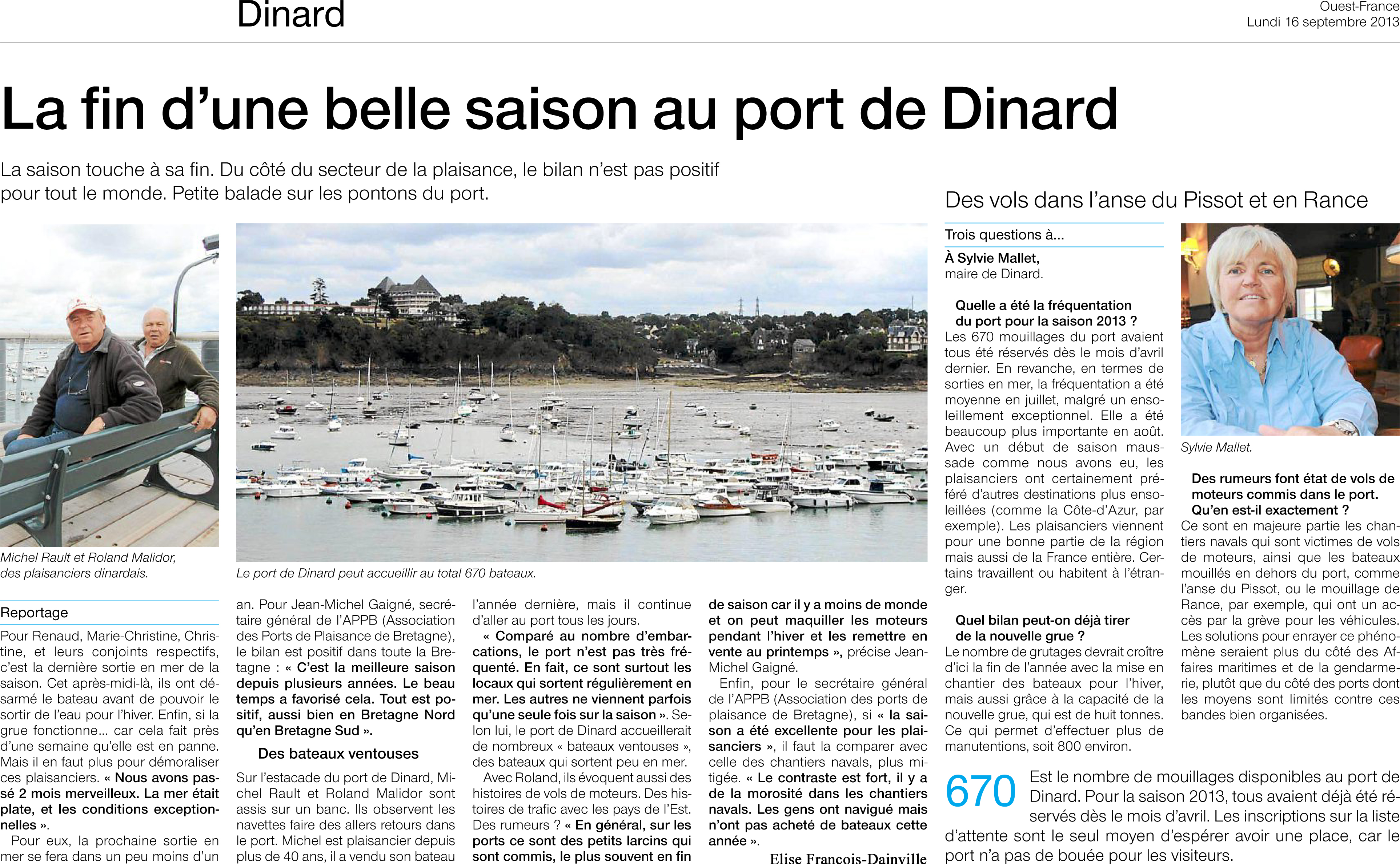 port de Dinard
