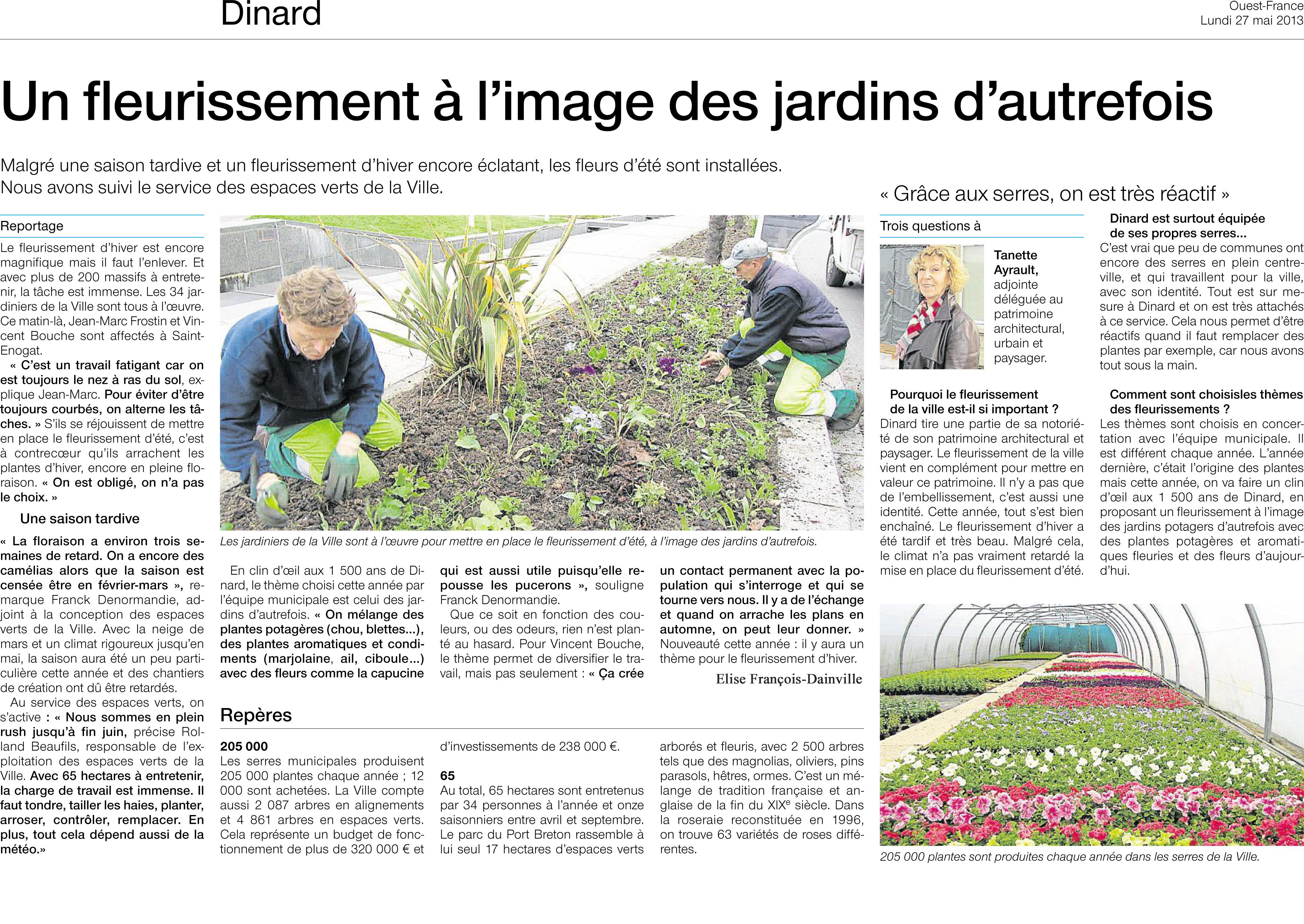 20130527 Fleurissement Dinard