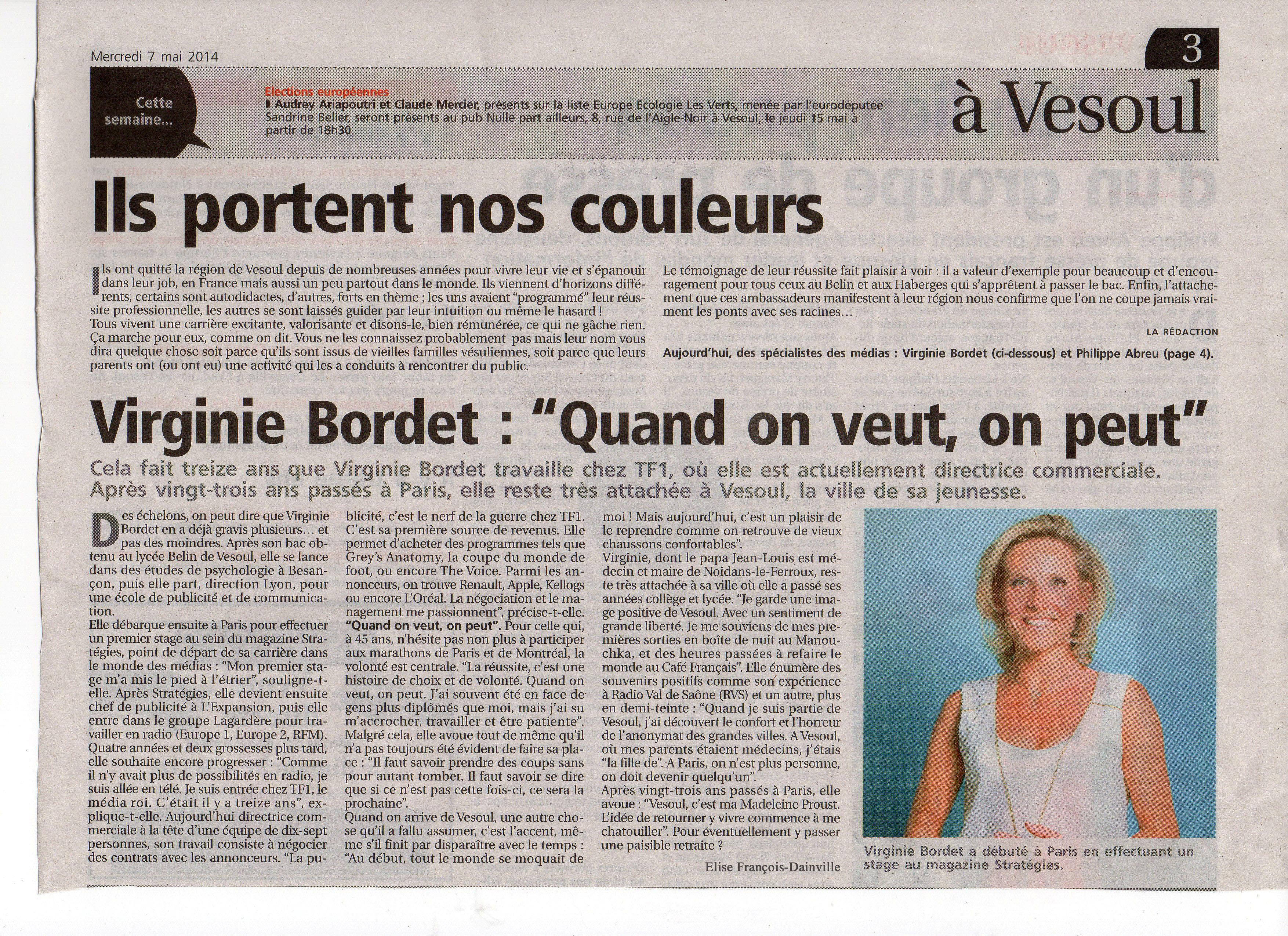 le presse de vesoul  u2013 elise fran u00e7ois