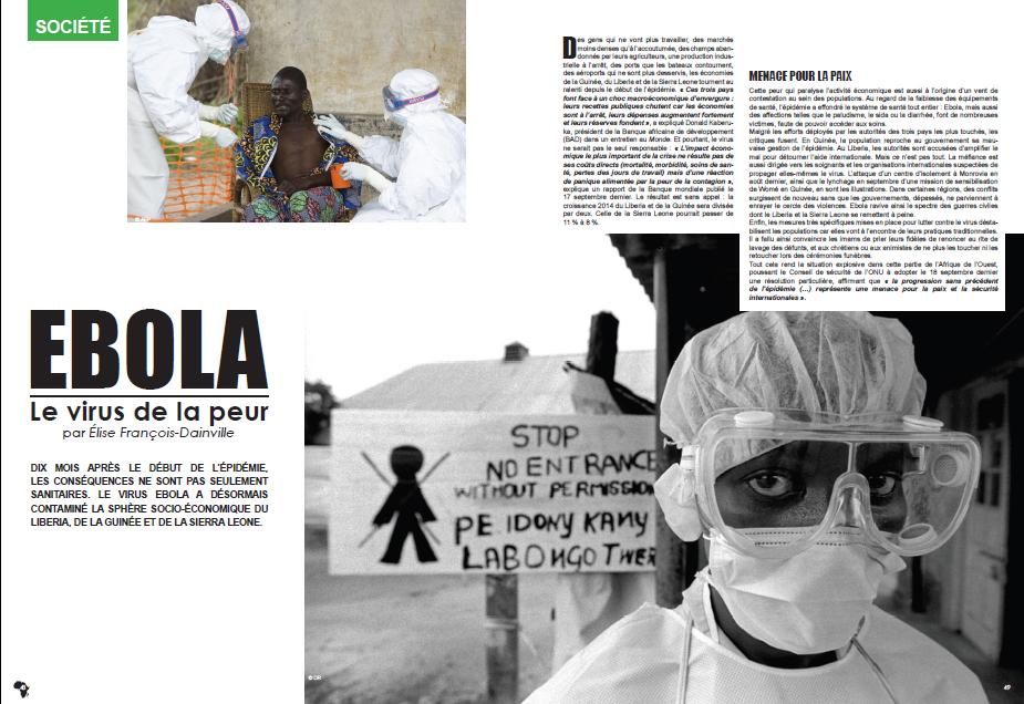 ebola le virus de la peur
